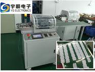 Çin Şeritleri Kesmek İçin Çok Gruplu Bıçaklı CE PCB Ayrıştırma Donanımı Fabrika