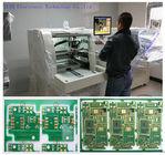 100mm / s CNC PCB Yönlendirici, Windows Yönlendirme Bit Kesme İkiz Tablalı PCB Ayırıcı Makinesi