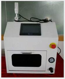 Kolay Çalıştırma Beyaz Otomatik Pcb Temizleme Makinesi Temiz Nozul