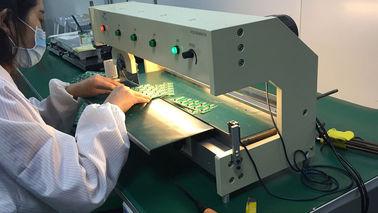 LED Alüminyum Plaka V Kesimli Pcb Ayırıcı / V Kesimli Pcb Depaneling Makinesi